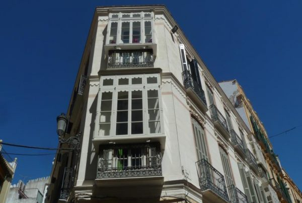Rehabilitación de Edificio Protegido en Calle Granada 33. Málaga