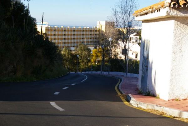Urbanización e Instalación de servicios en Urbanización la Hidalga, Benalmádena.