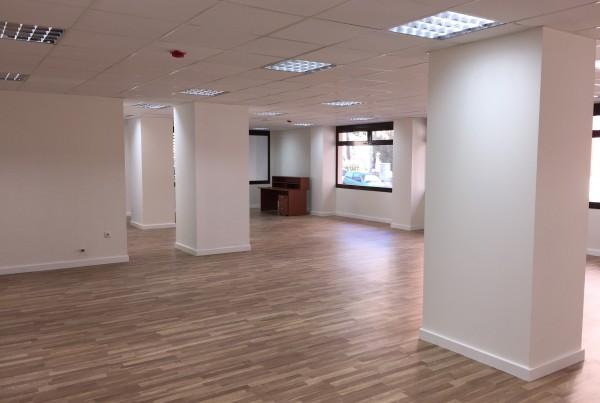 Trabajos en nuevo Centro de Mayores. Distrito Bailén-Miraflores.