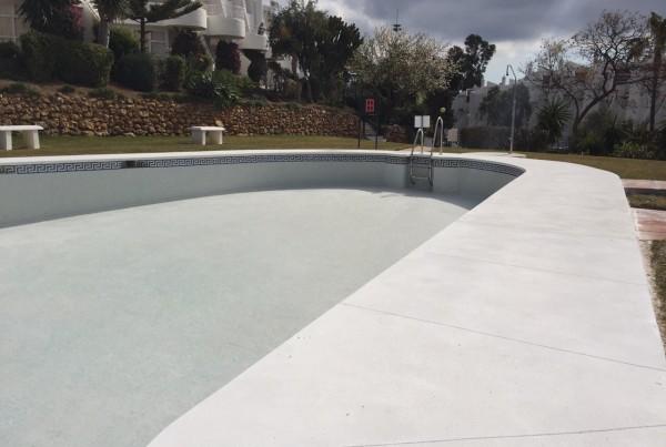 Reforma piscina Calahonda.