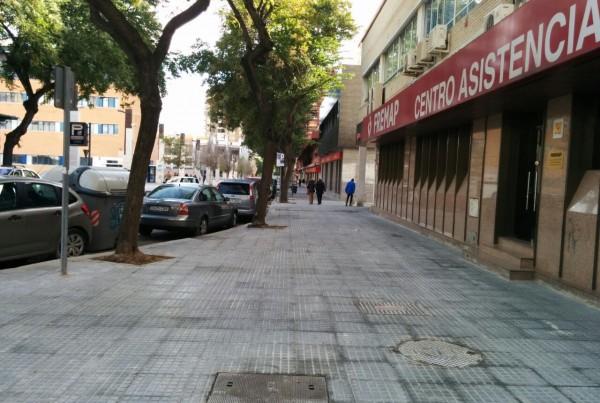 Trabajos en Calle Compositor Lehmberg Ruiz