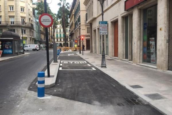 Nuevo Acceso a Centro Histórico de Málaga en C/Martinez
