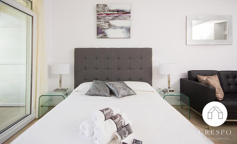 Dormitorio reforma integral apartamento Santa Clara
