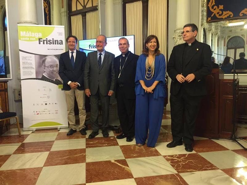 Patrocinadores Málaga canta con Frisina