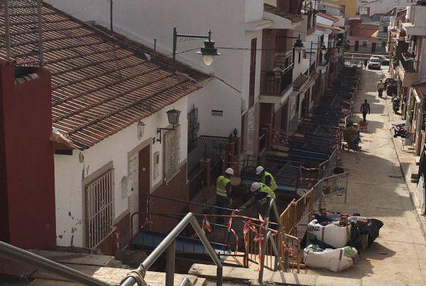 Infraestructuras y Accesibilidad en barriada La Pelusa. Málaga