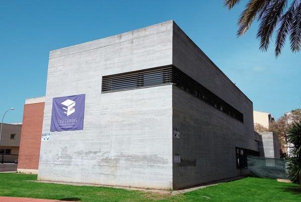 """Ejecución de nuevo centro social de Mayores """"El Seneca"""". Málaga"""