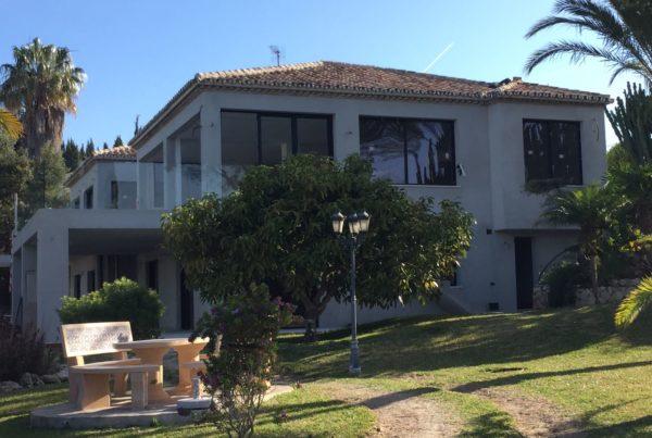 Ejecución de Villa Asis en Urb. El Rosario, Marbella